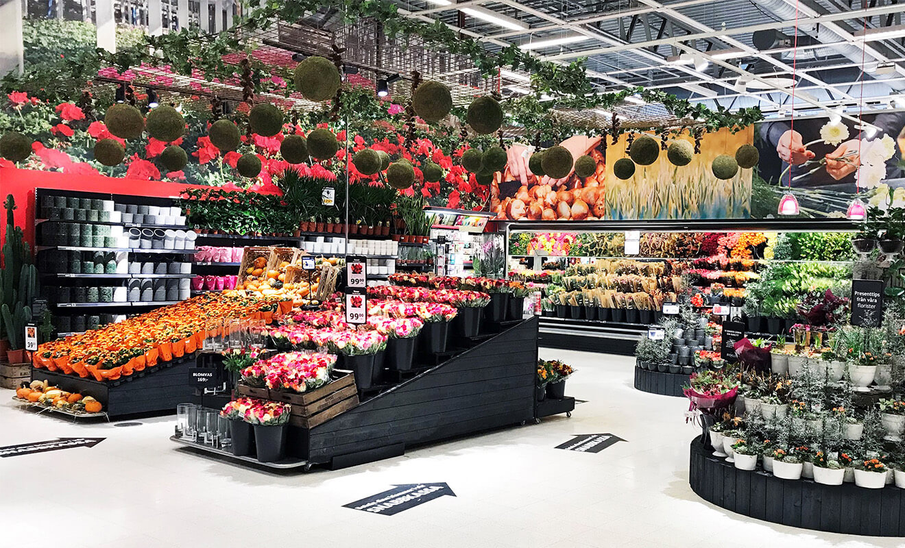 Blomstergruppen store-in-store